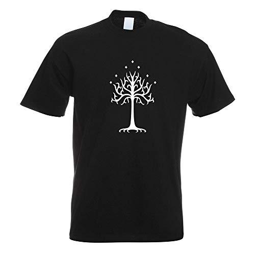 Kiwistar der Weiße Baum Gondors T-Shirt Motiv Bedruckt Funshirt Design Print