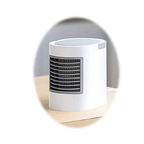 TONGBOSHI Kleiner USB-Ventilator, kleiner Mini-Schlafsaal für stille Schüler, Schreibtischbett, Klimaanlage mit kleinem Schlafzimmer, tragbarer Haushalts-Kleinwindventilator mit Steckdose verwendet, u
