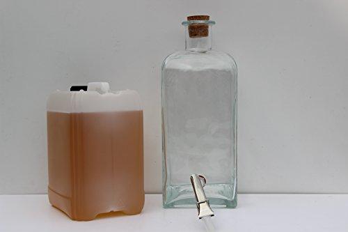 Preisvergleich Produktbild 5 l Kanister Berta Monprà Grappa incl. 5 l Glas Amphore mit Abzapfsystem
