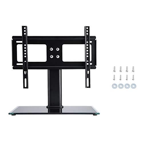 TV Standfuß für TV Tisch mit max. 400 mm x 400 mm Stativfuß für 14 32 Zoll für LCD Plasma