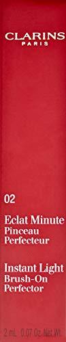 CLARINS Eclat Minute 02 - Correttore, Beige medio (Medium Beige), 2 ml