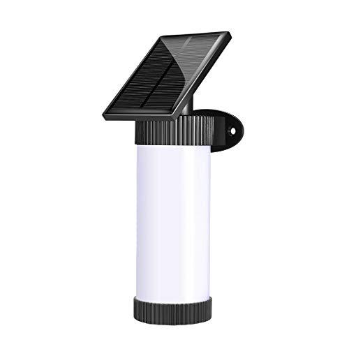 Flamme Lampe Led, Chshe®, Flackernde Solarleuchten Wandleuchte Eingebauter Nachtsensor 102 Led, Fancy Ornaments Cosy Home Decor -
