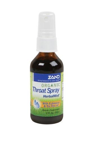 Tee-baum-spray (Zand - HerbalMist Kehle-Spray mit Echinacea u. Tee-Baum-öl organisch - 2 Unze.)