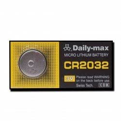Daily-Max - DAILY-MAX Pile Bouton Lithium 3 Volts CR2032