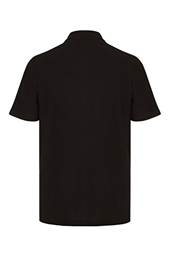 Barror London Men's City Polo Shirt - Medium to Kingsize Black