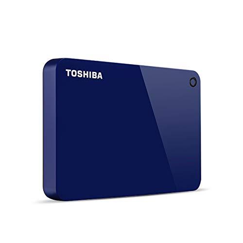 Toshiba Canvio Advance Externe Festplatte 4000 GB Blau - Externe Festplatten (4000 GB, 2.5 Zoll, 3.0 (3.1 Gen 1), Blau) (Toshiba 4tb)