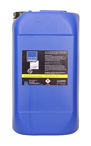 CLEANPRODUCTS Autoshampoo Konzentrat mit Wachs - 15L - Mischung 1:100, auch als Reinigungszusatz für Hochdruckreiniger