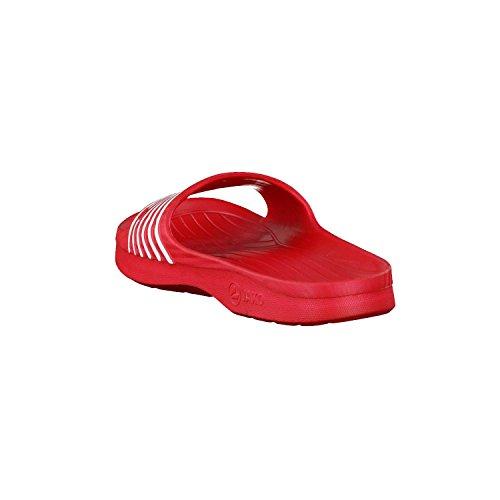 Jako Badelatschen Jakolette Basic Unisex rot-weiß (5716-05)