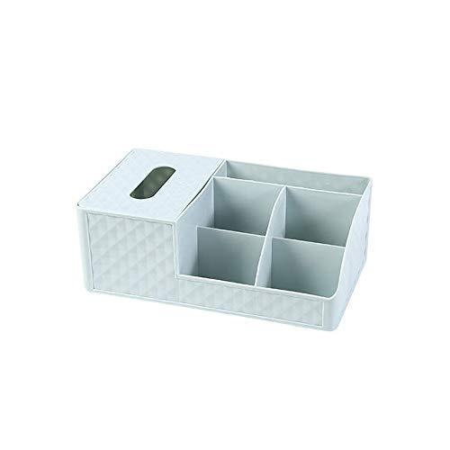 HGRCE Aufbewahrungsboxen Kunststoff Kosmetik Aufbewahrungsbox Schreibtisch Lagerregal Tissue-Boxen Haushaltsabfall Desktop Storage Kunststoff-Box für Home Storage