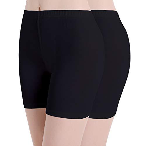 Ferrieswheel Story Damen Tight Hose Unter Rock Kurze Leggins Radlerhose - Fit Bequem Yoga Shorts