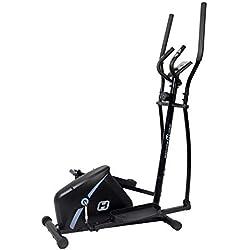 BT BODYTONE - DE15 - Bicicleta Eliptica para Fitness en Casa - Display Led y Pulsómetro - Peso Máximo Usuario 110 kg