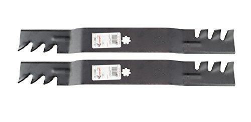 Mulchen Klingen passen für John Deere Modelle D100LA100ersetzt OEM Gx22151gy20850Für 42Deck ()