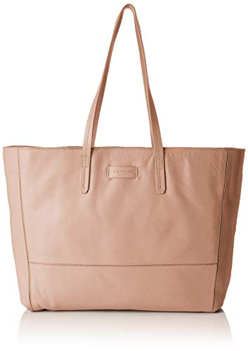 Rose Shopper (Liebeskind Berlin Damen Essential Shopper Large Schultertasche, Pink (Dusty Rose), 14x30x36 cm)