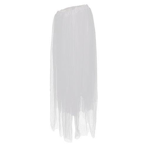 chafts Kleid Organza Fotografie Rock Tüllrock Unterrock Schwangere Frauen Fotoshooting Requisiten - Weiß, wie beschrieben ()