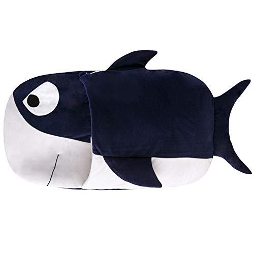 Wovem Shark Cartoon Baby Saco Dormir Primavera Verano