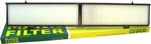 Cabin Filter Car Air (Mann Filter CU8430 Filter, Innenraumluft)