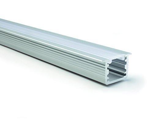 5 Stück - GedoTec Modernes Design LED Profil Boden-Schiene Modell DIVA | 2000 mm | Bodenprofil für LED-Streifen | hochwertige Design Aluminium Profil-Schiene | Markenqualität für Ihren Wohnbereich