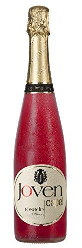 Joven Capel Vino Rosado Gasificado, 10% - 0,75 L