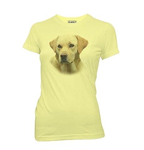 Hangover 2 Alan Lab Dog Yellow T-shirt (Juniors Large)