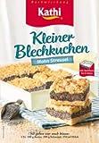 Kathi Kleiner Blechkuchen Mohn Streusel 450g
