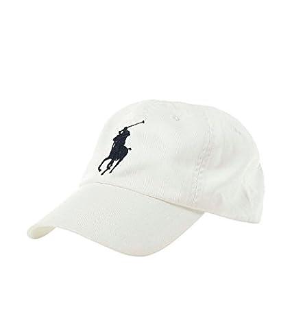 Casquette Ralph Lauren Blanche - Polo Ralph Lauren - Casquette sport en