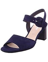 Damen Sandalen Gabor Sandaletten in Übergrößen Blau 42.824