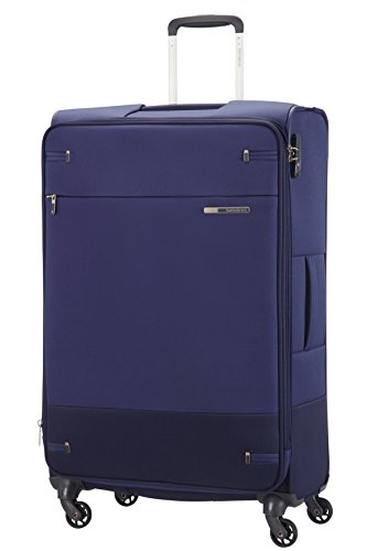 Samsonite Base Boost Spinner Valigia, 55 cm, 112.5 litri, Blu