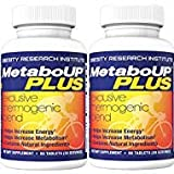 Lipozene MetaboUP Plus - 2 60 Count Bottles - Thermogenic Weight Loss Fat