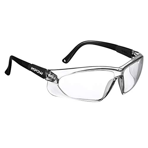 3fb428a04f Mpow Safety Glasses, Protective Glasses/Goggles/Eyewear for Eye Protection,  UV Protection