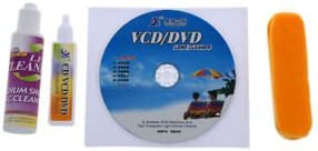 SLB Works 4 in 1 CD DVD ROM Player Maintenance Lens Cleaning Kit PF T1F8 N2D5