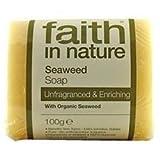 Faith in Nature Seaweed Pure Veg Soap 100g, usado segunda mano  Se entrega en toda España