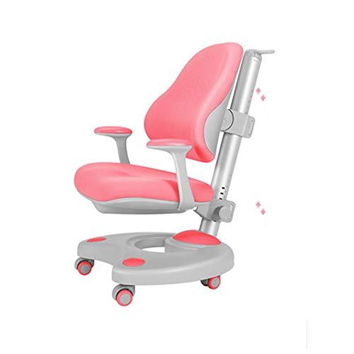 Ergonomischer Netz-Bürostuhl mit hoher Rückenlehne, Heimkorrektursitzschülerschreibtischstuhl für Kinder, Gesundheitsschutz für Kinder