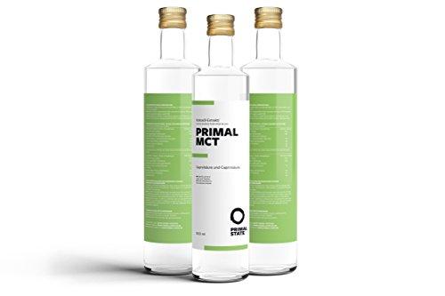PRIMAL MCT Öl in Glasflasche   P...