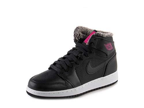 rdan 1 Retro High-GG Hallo Sneaker 332.148 Turnschuhe (UK 6 us 7Y EU 40) 7 M US Big Kid Schwarz Tödliches Pink Weiß 014 ()