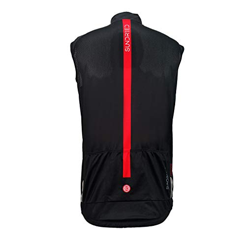 Zoom IMG-2 sundried pro cycling gilet leggero