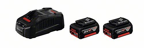 Preisvergleich Produktbild Bosch Professional Starterset GAL 3680 CV Ladegerät und 2x GBA 18 V 6,0 Ah, 1600A00500