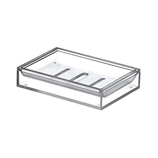 SDAGVRRGD Seifenkiste Transparente Plastikmode Leben Duschbad Seifenkiste Weiß