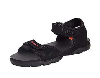 Sparx Men's Sandals ( SS-101-BLACK-BIG SIZE NO. 11)