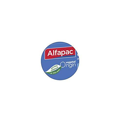 Alfapac -  50 Bolsas de congelación con Enlace -  Modelo pequeño -  Vegano Origin -  Fabricado en Francia -  Lote de 3 Bolsas de tamaño 20 x 25 cm