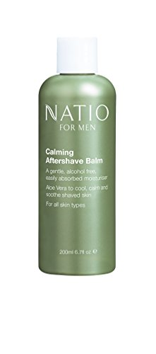 Men Moisture Balm (Natio Men's Calming Aftershave Balm 200ml)