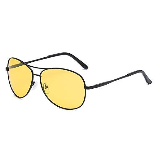 Nachtsichtbrillen für Autofahrer HD Nachtsichtbrillen Polarisierte Herren Damen Brillen Metall polarisierte Gläser