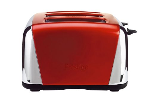Prestige Traditional 4-Slice Toaster, Steel, Red