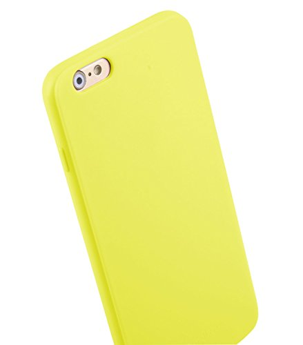 Melkco Poly Coque en TPU pour Apple iPhone 6 Plus (14 cm) - Pearl Jaune (apipl6tult3ywpl)