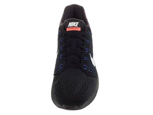 Nike Lunarglide 7, Chaussures de Running Compétition Femme Negro (Black / Sail-Rcr Blue-Hypr Orng)