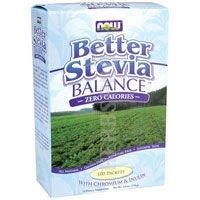 Meglio Stevia equilibrio, Zero Calorie, 100Packets, (1,1G) ogni–Now Foods - 31lTqFXK3eL