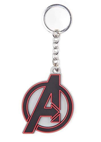 Marvel Avengers Endgame - Logo - Schlüsselanhänger | Offizielles Merchandise (Marvel-comic-tank)