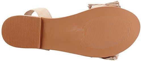 Vero Moda Vmluca Leather Sandal, Strappy Femme Beige (Café Au Lait)