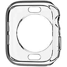 Screen Protector 44mm Clear TPU Bumper Case Cover Shell for Apple Watch Series 4 Gudoo