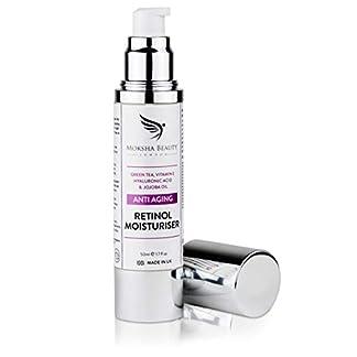 Crema Hidratante Facial Antiedad Para la Cara – 50ml [Made in U.K] Crema Antiarrugas Día y Noche Para Cualquier Tipo de Piel Cuello y Escote Crema Hidratante Antiarrugas Para Mujeres Combate la Edad