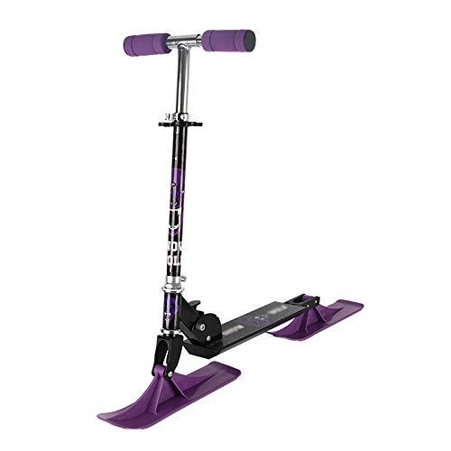 Ordos Roller, 125-Rad-Schlitten-Zwei-in-Eins-Roller, Kinderroller-Schneerutsche